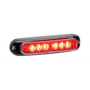 SURFACE MOUNT MICRON LED GRILL LIGHTS RED/WHITE