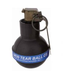 CS Tear Ball Grenade / 12 Per Case - Priced Individually  *Special Shipping - Call For Details
