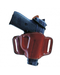 Minimalist Leather Belt Slot Holster
