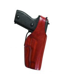 Thumbsnap Holster For Sam Browne Belt, Suede