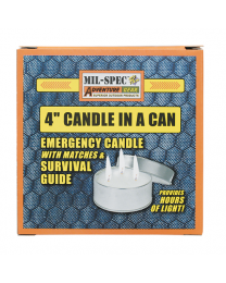 Mil-Spec 4  Candle in a Can