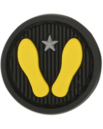 Yellow Footprints 1  x 1  (SWAT)