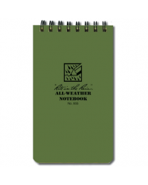 Pocket Notebook (3  X 5 ) OD Green