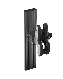 Single T-Rail Mount 1082E Blac-Rac -Use for all Sedans, Mid Size SUV & when mounting to freestanding bases