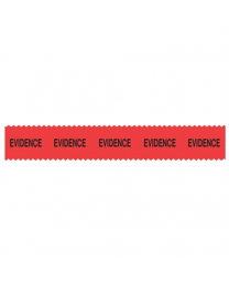 Sirchie - SIRCHMARK™ Evidence Integrity Tape Red w/ Black  Evidence  108