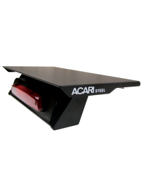 "ACARI 22"" LOW PROFILE STEEL ROOFTOP MOUNT PLATFORM"