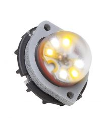 VERTEX SUPER-LED SPLIT AMB/WHT